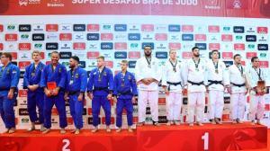 Brasil vence a Alemanha em Belo Horizonte no Desafio Internacional de Judô