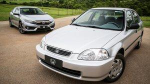 Honda Civic completa 20 anos de produção no Brasil