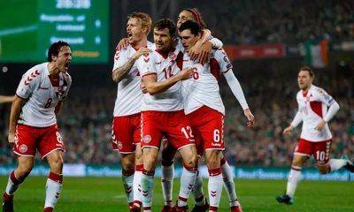 Eriksen faz três, e Dinamarca vai à Copa com 5 a 1