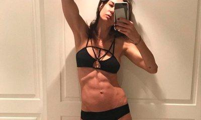 """""""Abaixo a magrofobia"""": Luciana Gimenez posa de calcinha e sutiã """"sem filtro"""""""