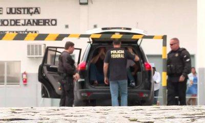 Doleiros suspeitos de lavar dinheiro chegam ao Rio