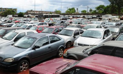 Detran abre visitação para 717 veículos a serem leiloados