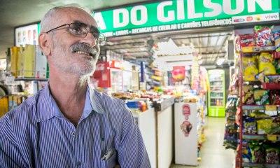 Luto na UnB - Gilson de Queiróz manteve comércio por mais de 40 anos