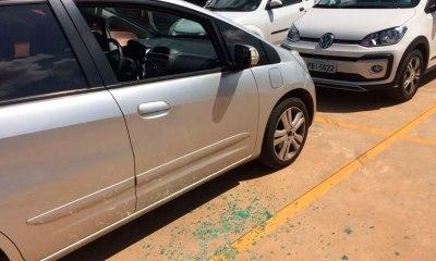 Grupo furta objetos de sete carros e rouba outro veículo no Setor de Clubes Sul