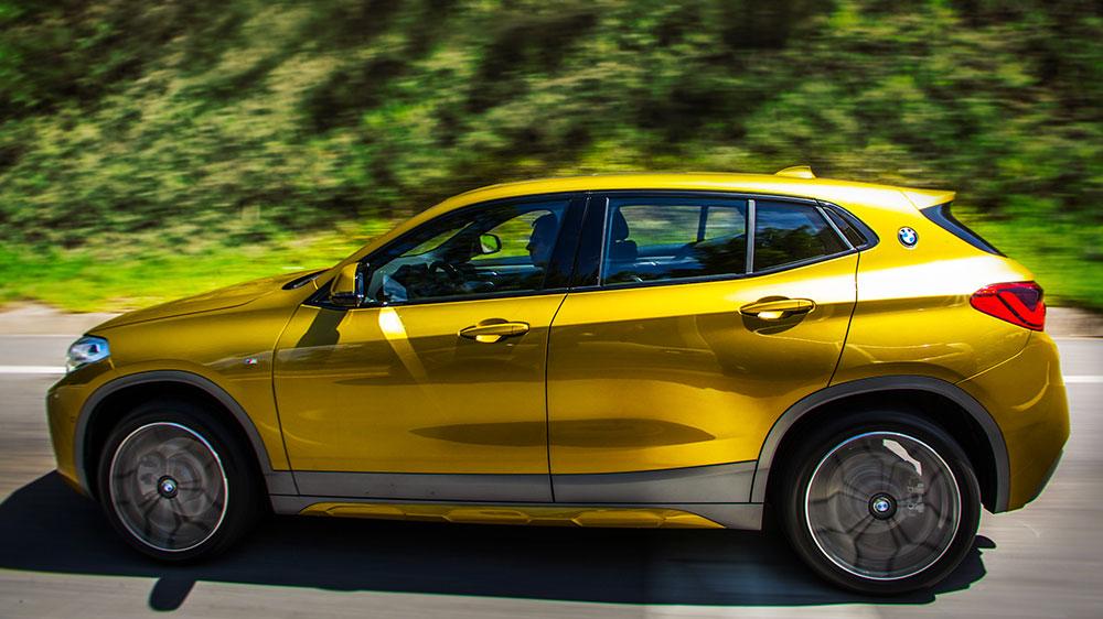 BMW X2. Foto: Divulgação