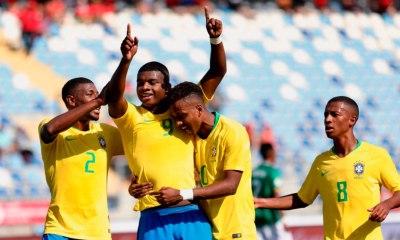Classificado! Brasil vence e se classifica para o hexagonal final do Sul-Americano Sub-20. Foto: Gregório Fernandes/CBF