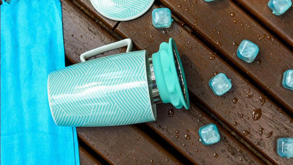 Chás gelados são uma opção refrescante para o verão. Foto: Fotos: Clelia Brito/ Divulgação