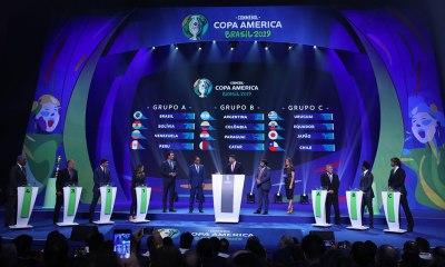 Brasil enfrentará Bolívia, Venezuela e Peru na 1ª fase da Copa América. Foto: Lucas Figueiredo/CBF