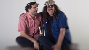 Moraes Moreira e Davi Moraes. Foto: Marcos Hermes