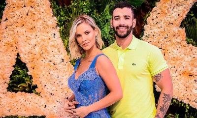 Gusttavo Lima faz dancinha em rede social e Andressa Suita reage: ''Que isso, bebê''. Foto: Reprodução/Instagram