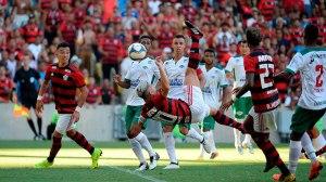 Com show no campo e na arquibancada, Flamengo goleia Cabofriense pela Taça Guanabara. Foto: Alexandre Vidal / Flamengo