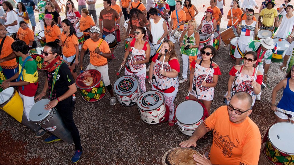 Festival Internacional de Tambores começa nesta sexta-feira no DF