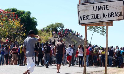 Exército venezuelado entra em confronto com manifestantes na fronteira com o Brasil