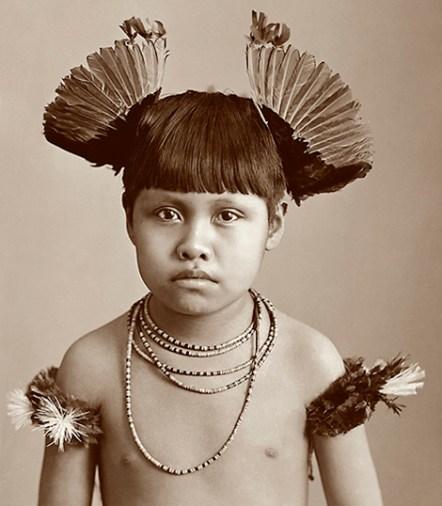 Marc Ferrez Menino Índio, c. 1880 Mato Grosso