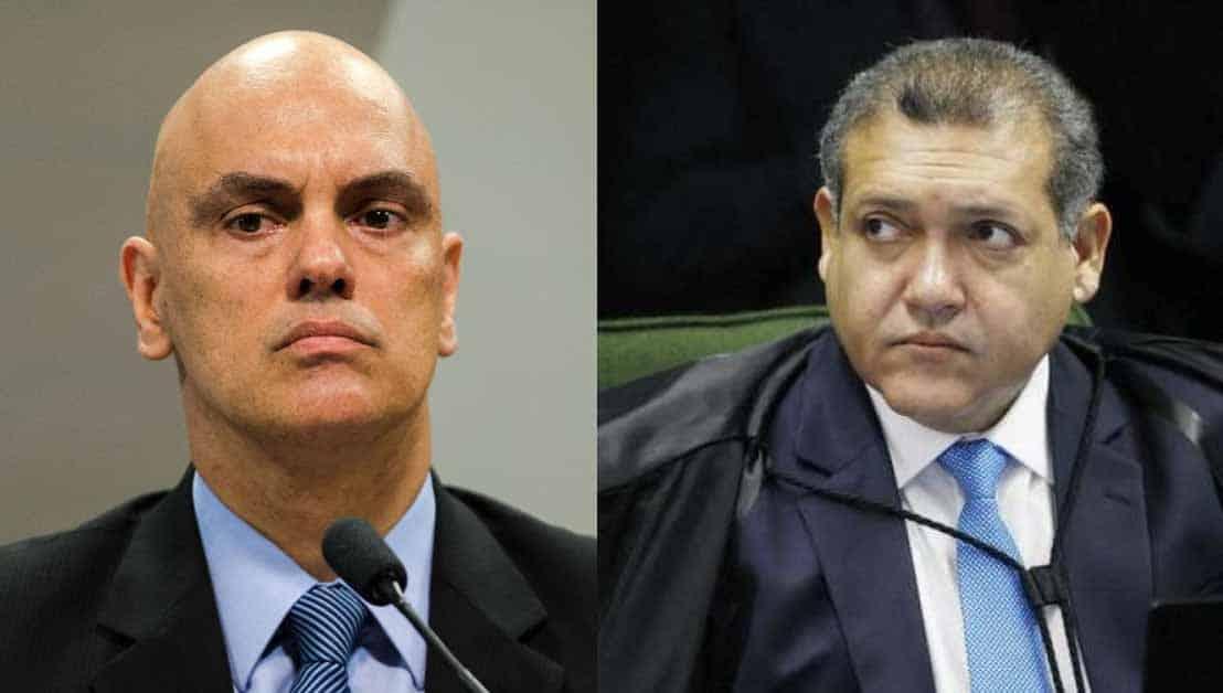 Kajuru entra no STF e Nunes Marques julgará pedido de impeachment de Moraes