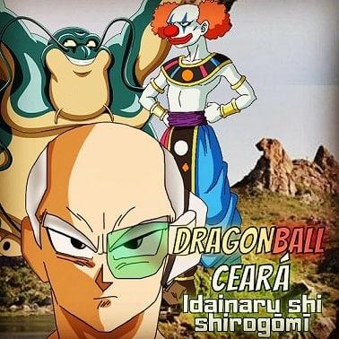 Ciro vira Vegeta de Dragon Ball