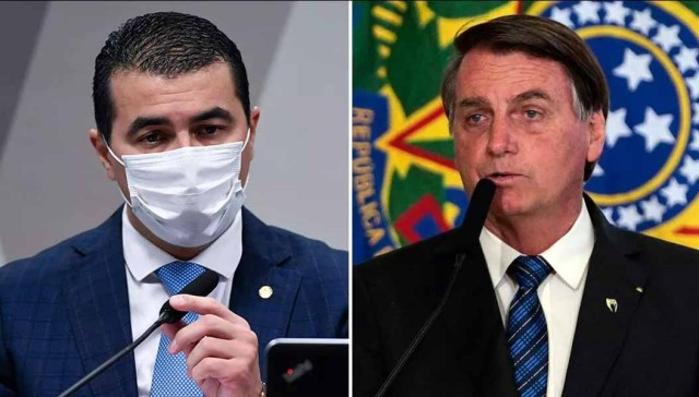 Bolsonaro se enrola sobre reunião com Luis Miranda