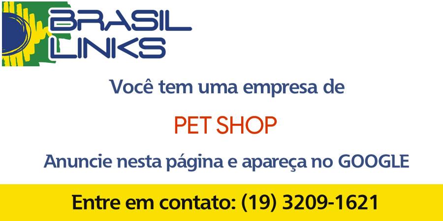 Lojas de pet shop em Campinas