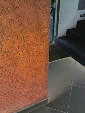 Pintura com textura e grafiato em Campinas