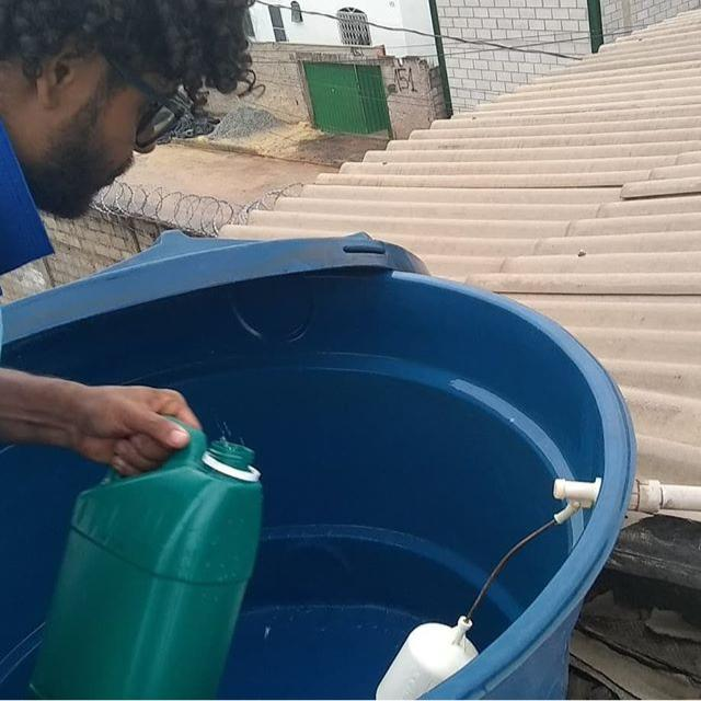 limpeza de caixa dágua em Betim