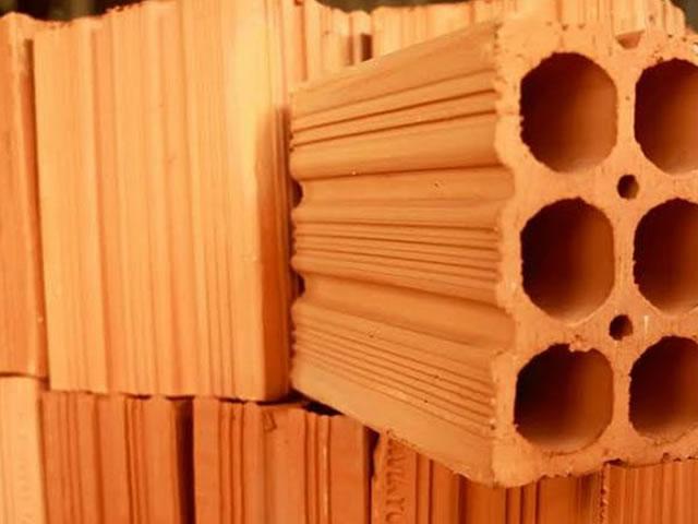 Blocos estruturais cerâmicos