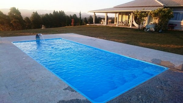 Construção de piscinas