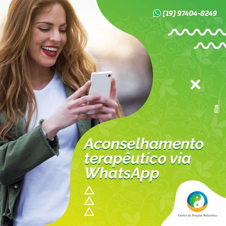 aconselhamento pelo whatsapp em Campinas