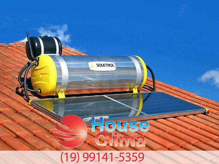 manutenção aquecedor solar Campinas