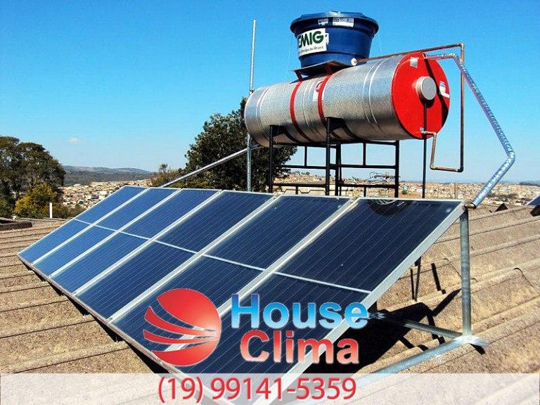 manutenção em aquecedor solar Campinas