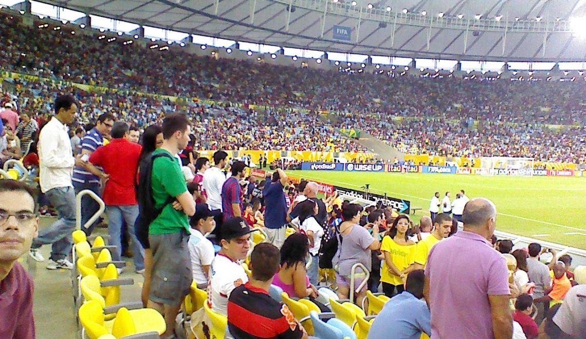 Copa Confederaciones Brasil 2013: mi 'trabajo' en Río de Janeiro
