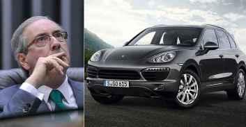 Cunha and a Porsche Cayenne.