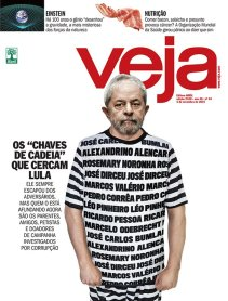 Lula in 2015 press: total hate