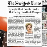 The New York Times: Criminosos estão julgando Dilma, uma presidente honesta