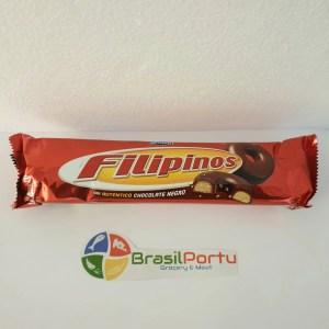 foto Biscoito Filipinos Chocolate Negro 135g