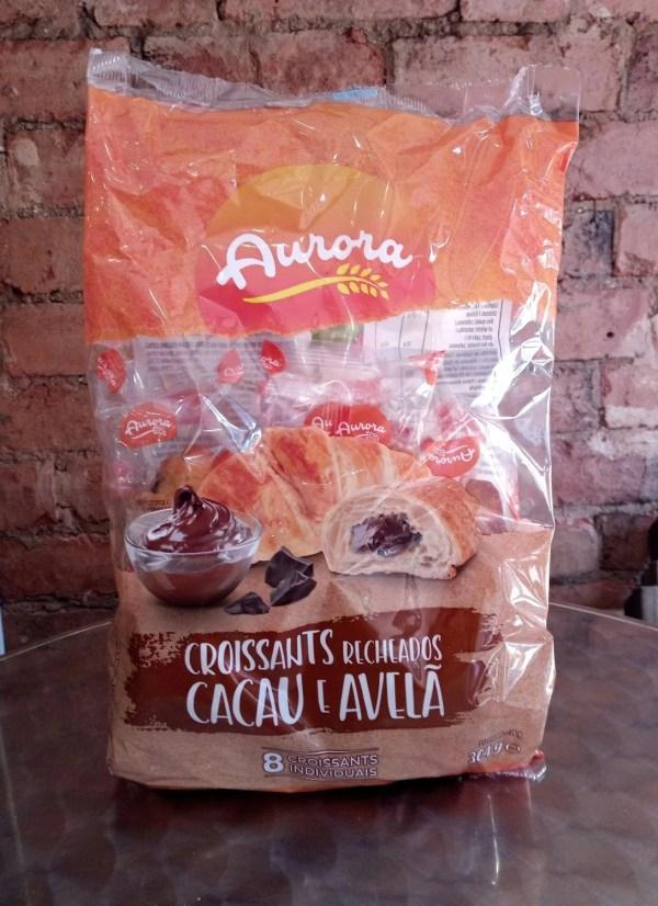 fotos Croissants Recheados Cacau e Avela 8un