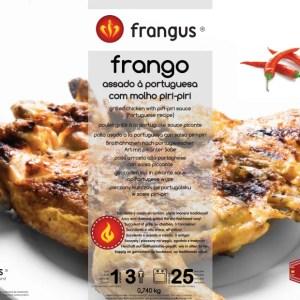 foto Frango Assado à Portuguesa Com Molho Piri Piri