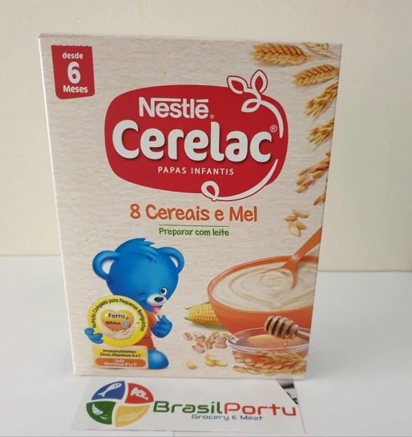 foto Nestlé Cerelac 8 Cereais e Mel 250g