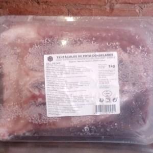 foto Tentaculos de Potas Congelado 1kg