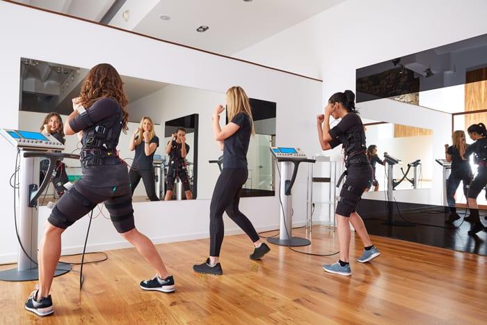 Estimulação elétrica dos músculos para corredores!
