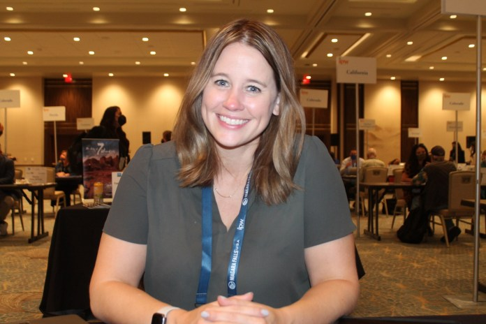 Molly Castano, do Las Vegas Convention and Visitors Authority