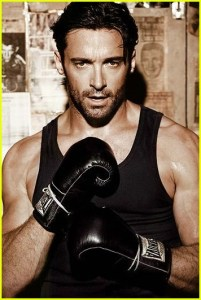 Hugh Jackman Chest and Biceps Size