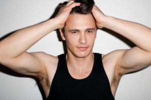 James Franco Chest and Biceps Size