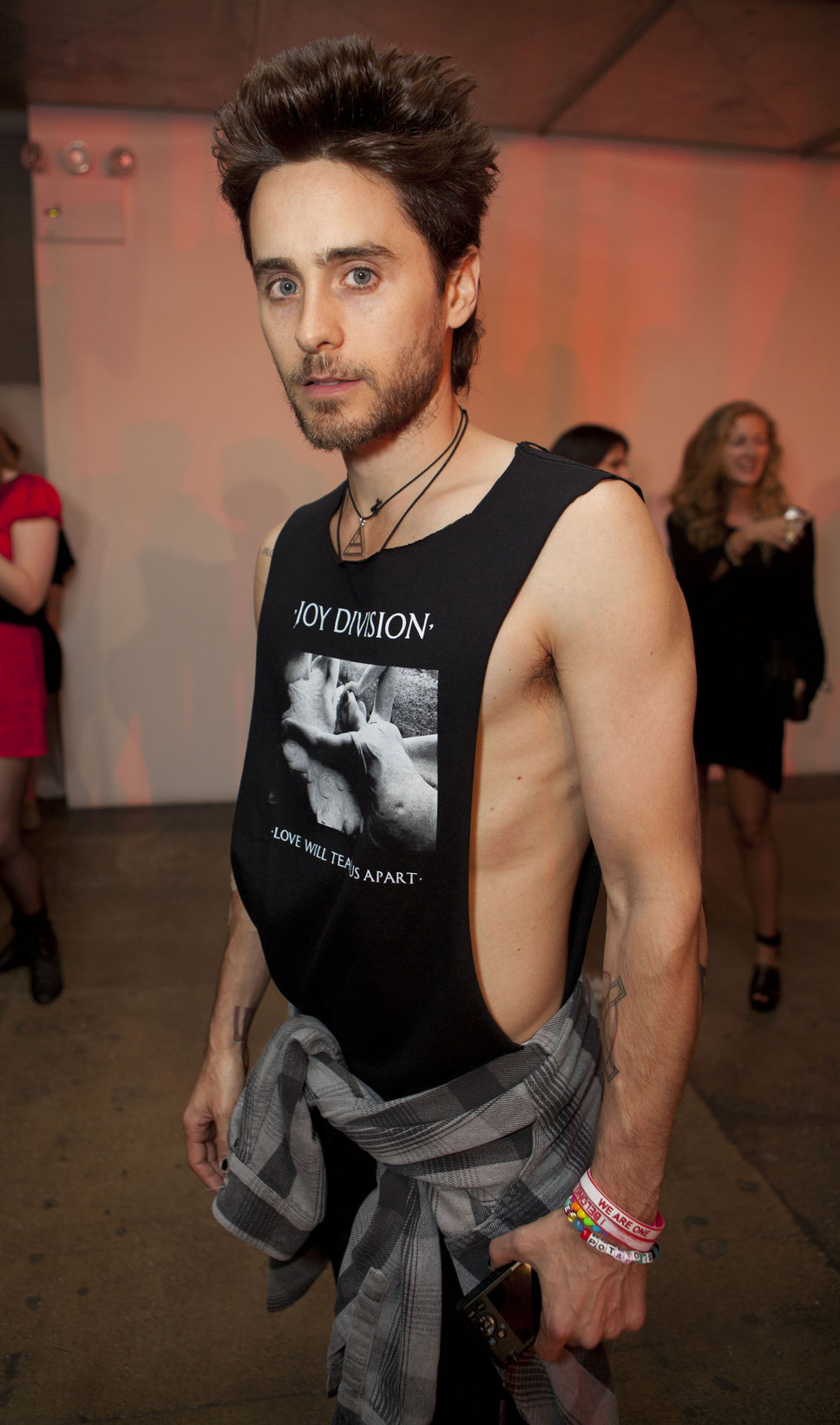 Jared Leto Chest and Biceps Size