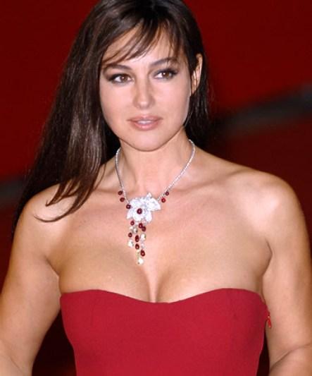 Monica Bellucci Bra Size