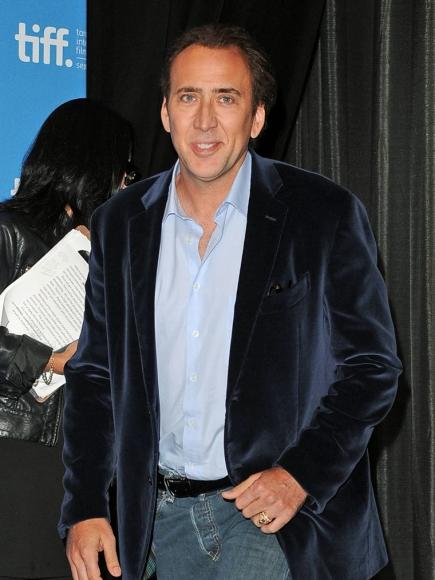 Nicolas Cage Biceps Size