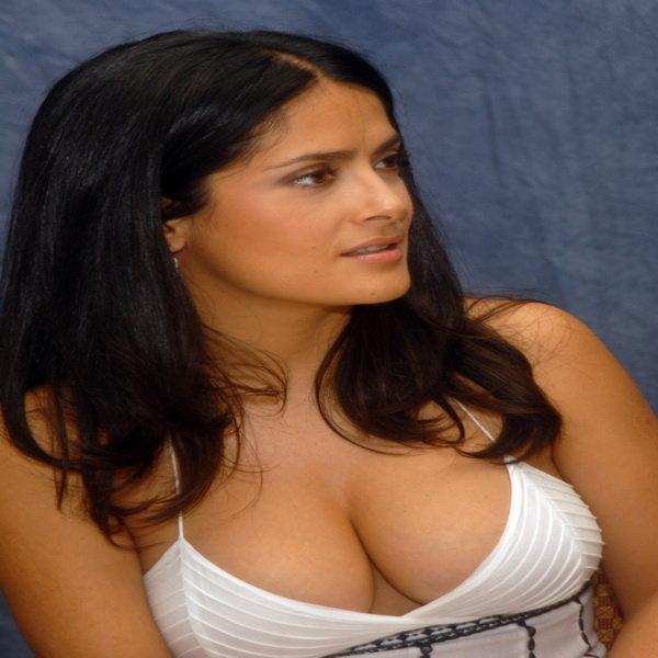 Salma Hayek bra size measurements