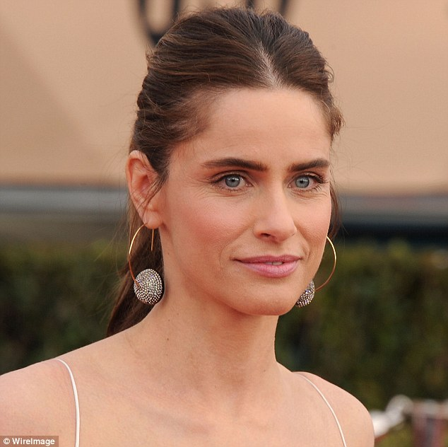 Fears: Although the 44-year-old actress, pictured in January, admits she wants to 'look younger and better', she says she is afraid to get Botox or plastic surgery because of the potential complications