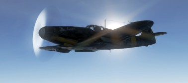 The Bf 109 G2 Ioan Di Cesare flew in 1944 is in War Thunder!