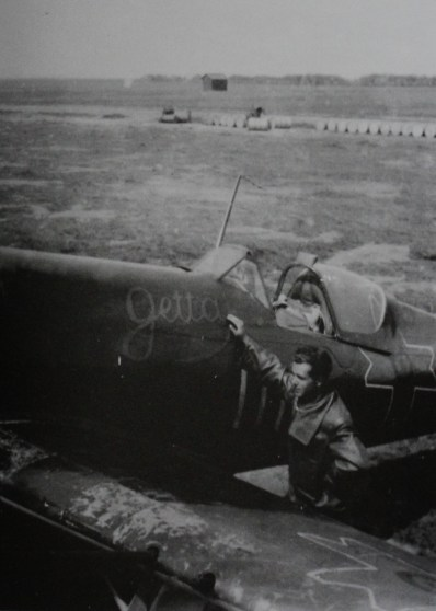 Gheorghe Gulan (Fighter Group 1) didn't just marry the women he loved, he named his plane after her too!