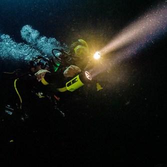 Night Diver (Photo Credit - PADI)